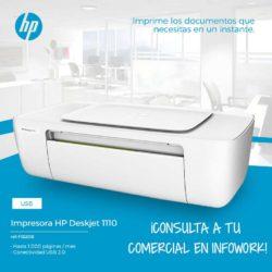 comprar HP DESKJET 1110 USB