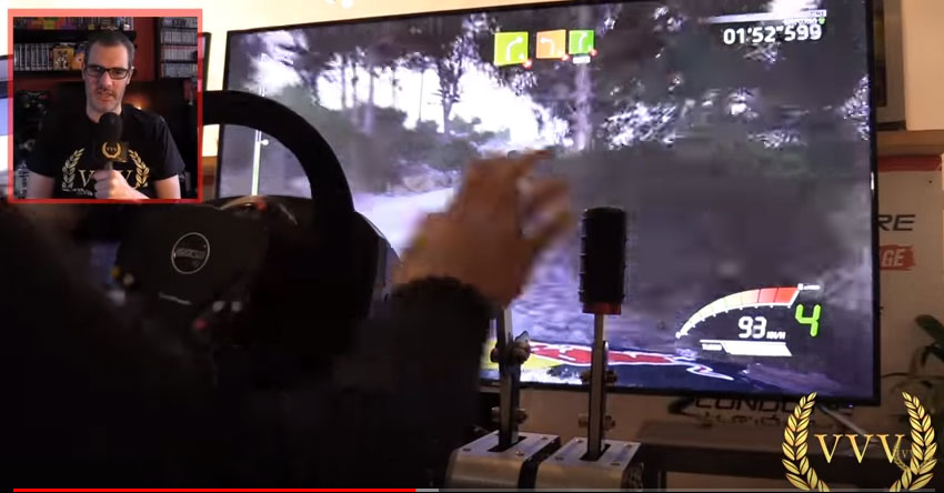 Thrustmaster TSS Handbrake video
