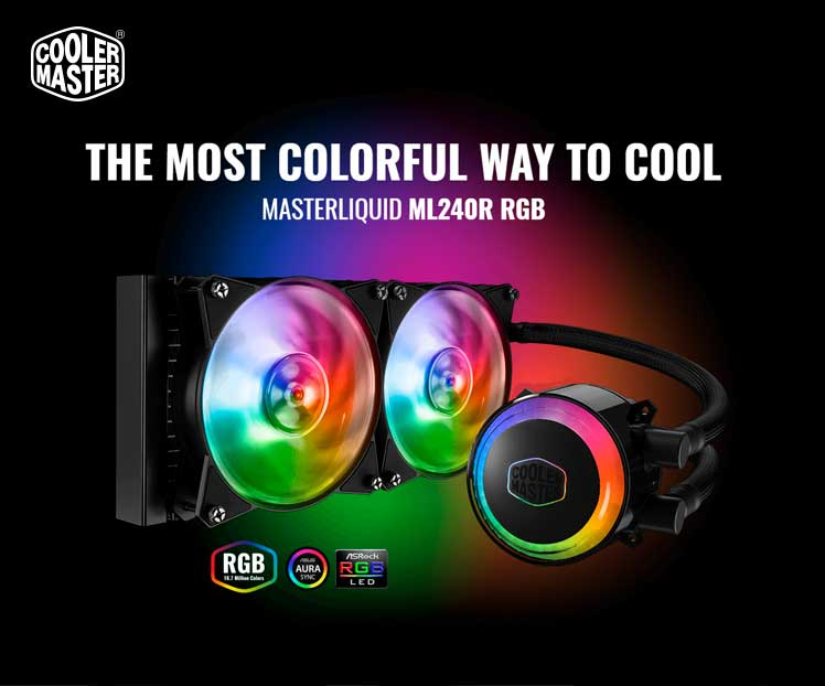 Cooler Master MasterLiquid ML120R / ML240R RGB