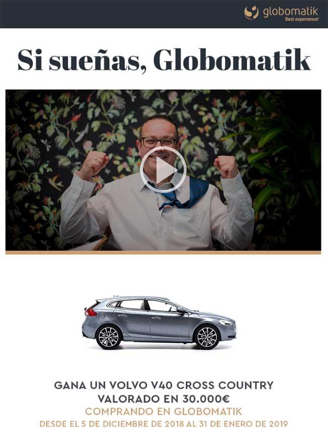 Gana un Volvo con Globomatik