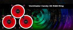 vídeo de los ventiladores gaming Candy de UNYKAch