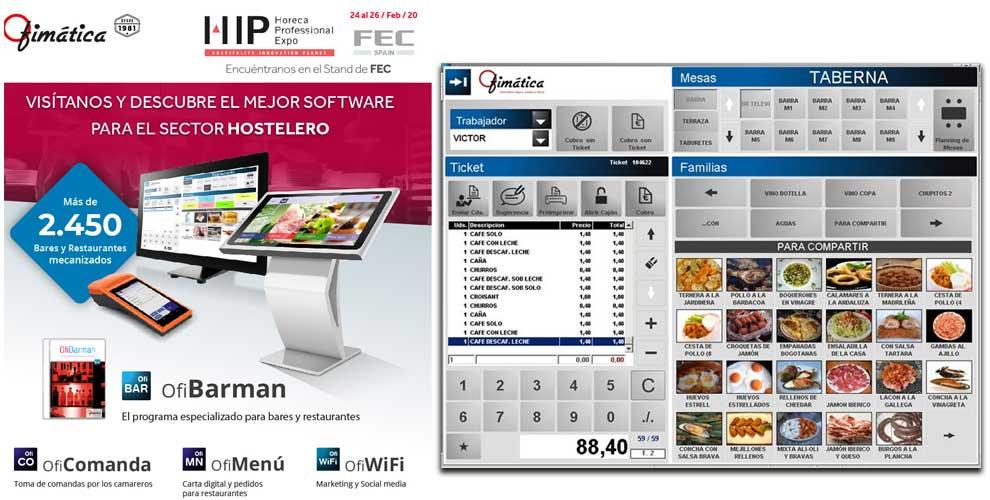 Ofibarman, el software para bares y restaurantes