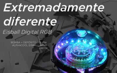 Esto es diferente, Alphacool Eisball Digital RGB