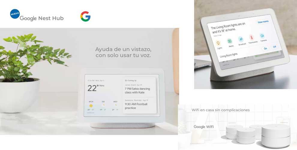 Google Nest Hub en Infowork