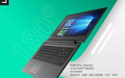 Mira qué relación calidad precio tiene éste portátil Lenovo