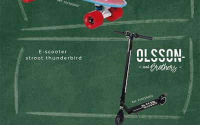 ¿Conoces el patinete Olsson Stroot Bonneville?