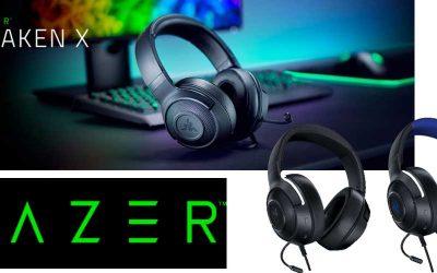 Nuevo Razer Kraken X para jugar todo el día