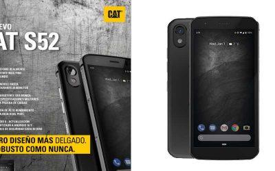 CAT S52, el móvil más resistente ahora en Globomatik
