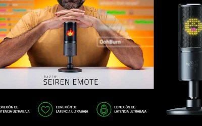 Unboxing Razer Seiren Emote, el nuevo icono del streaming