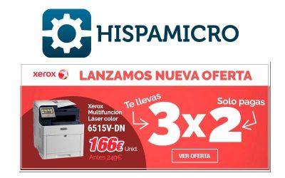 Promo 3×2 Xerox® WorkCentre 6515, más allá del negocio