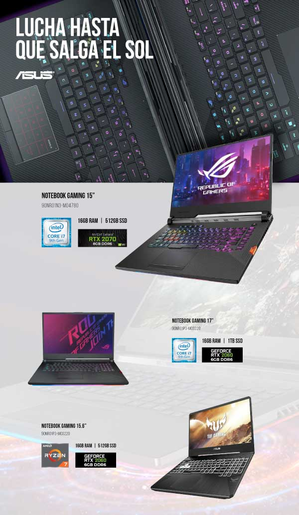 oferta portatil asus gaming