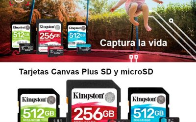 Tarjeta microSD Canvas Select Plus