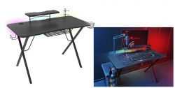 Holm 300 RGB Ultimate Gaming Desk
