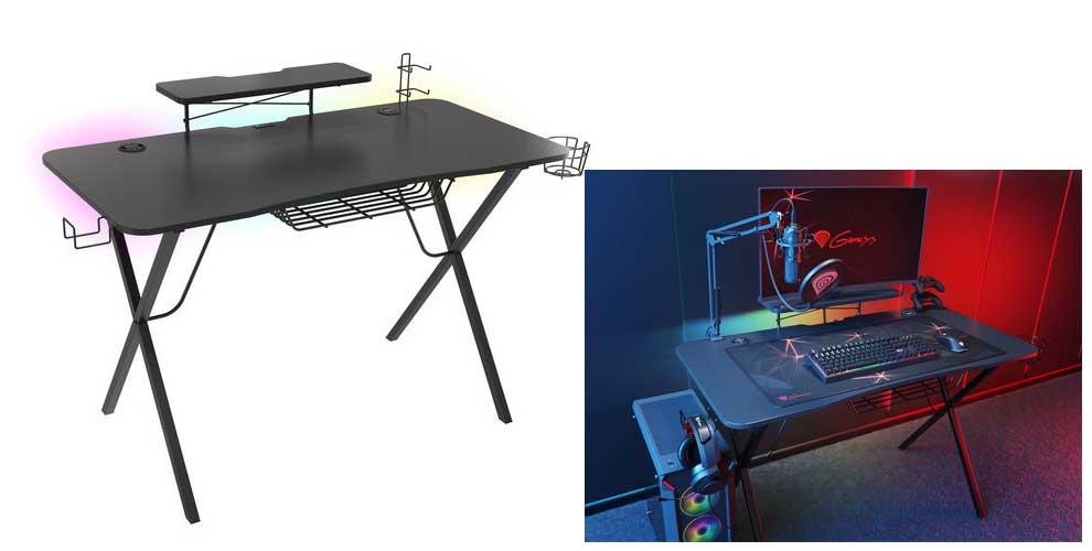 Holm 300 RGB Ultimate Gaming Desk