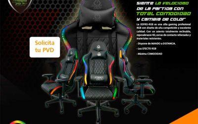 Silla gaming KeepOut XSPro-RGB