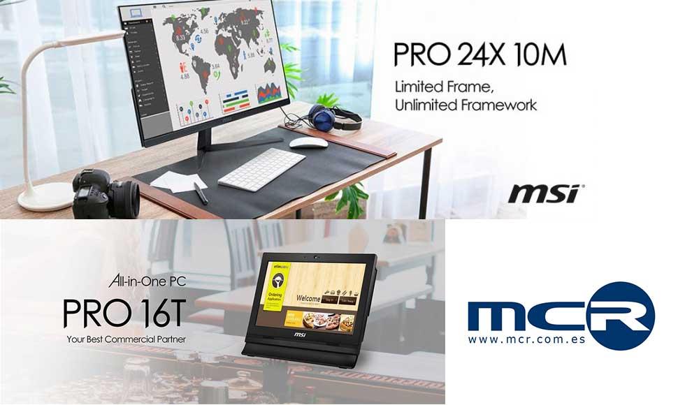 MSI Pro 24x: super slim all in one PC