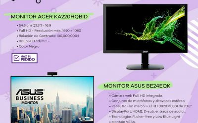 Monitor top ventas Acer KA220HQBID en MCR