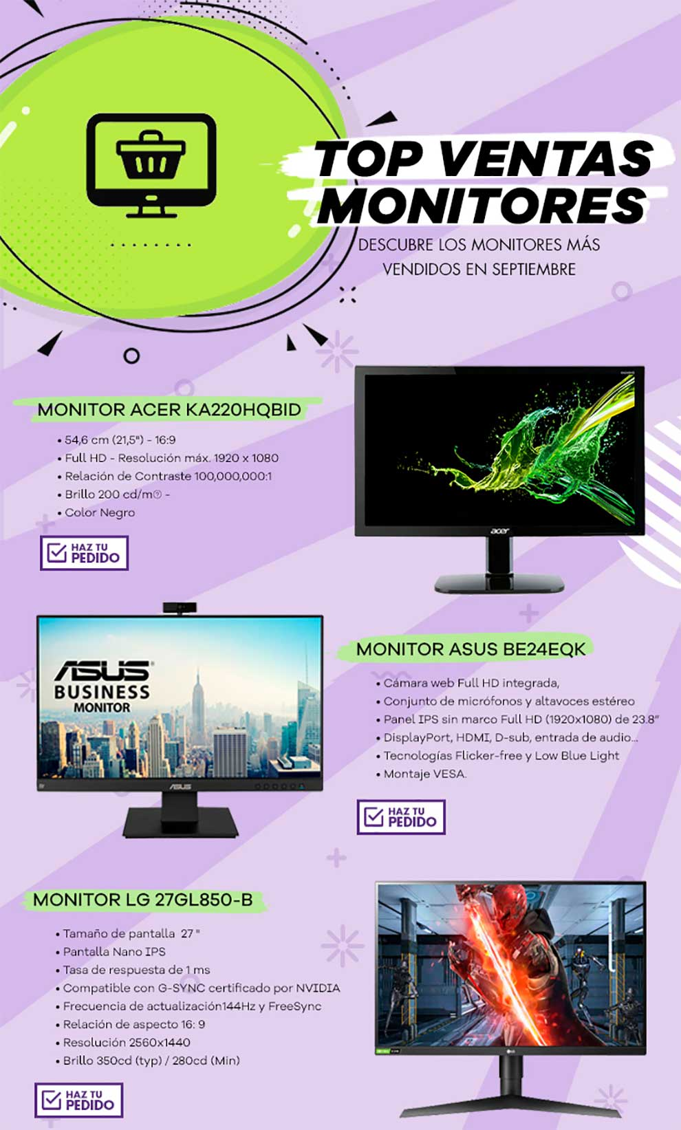 unboxing monitor Acer
