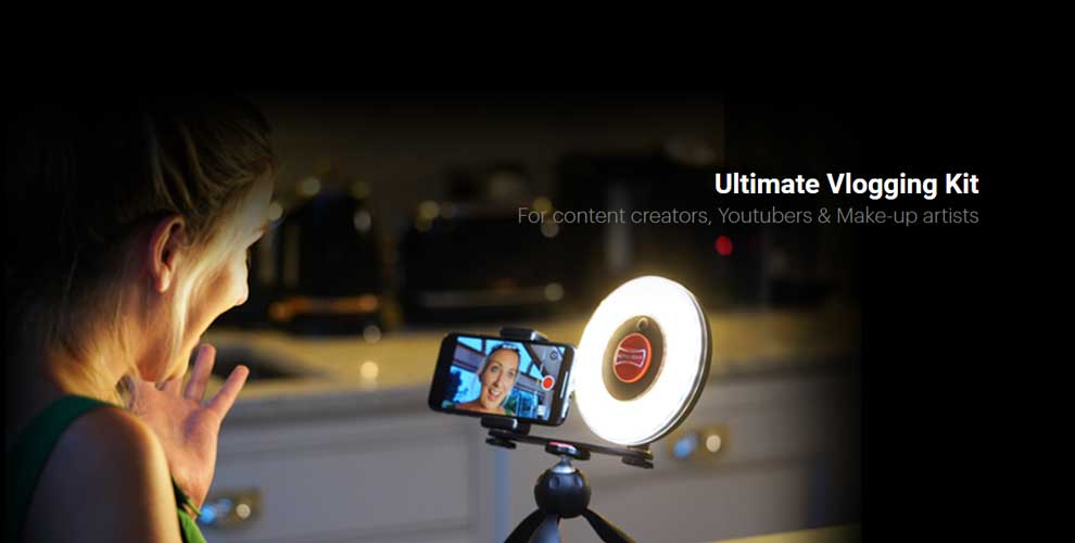 Kit de videovlogging Rotolight