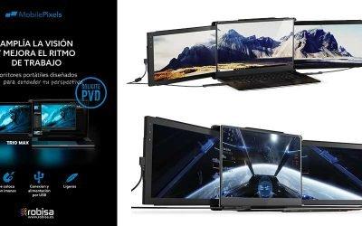 Crea monitores portátiles con Mobilepixels