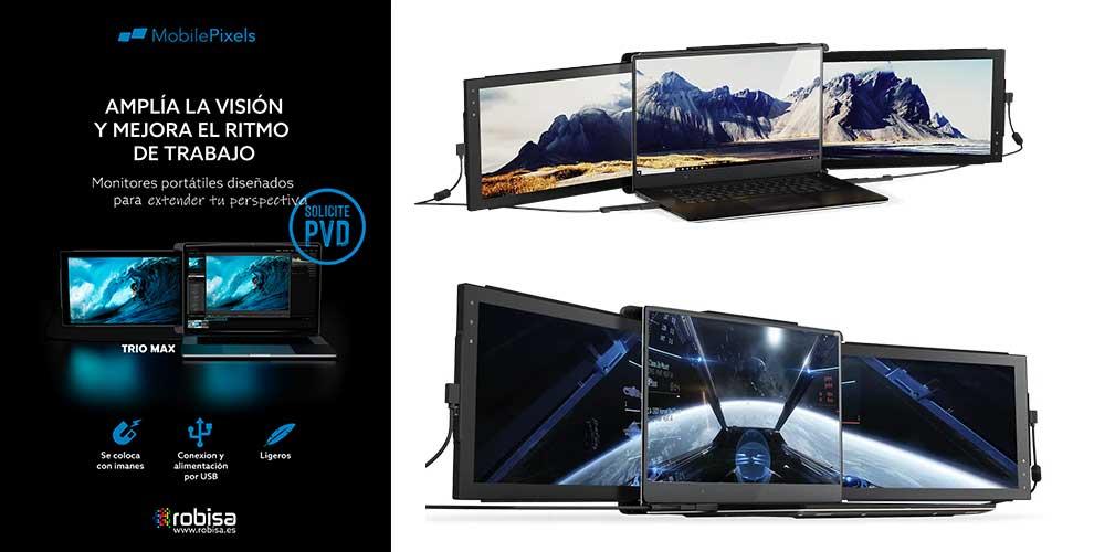 mobilepixels tres monitores en tu portatil
