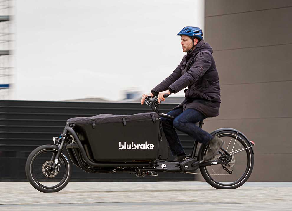 Blubrake presents the first ABS for e-cargo bikes