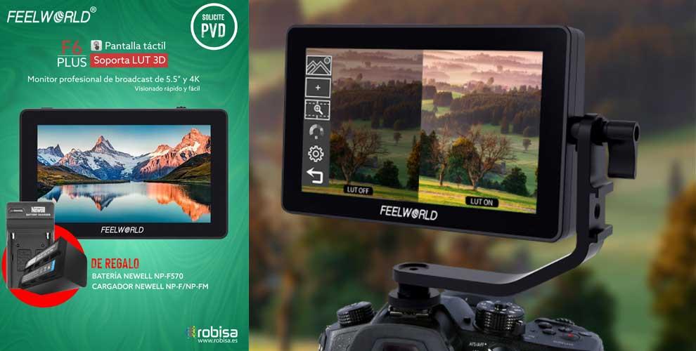 pantalla táctil monitorización fotografía