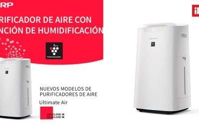 Nuevos purificadores de aire Sharp Ultimate Air