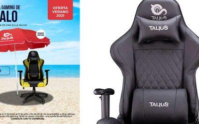 Una sombrilla de regalo por la compra de una silla Talius