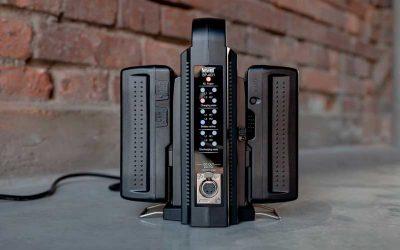 Newell presenta el cargador de baterías BP-4CH